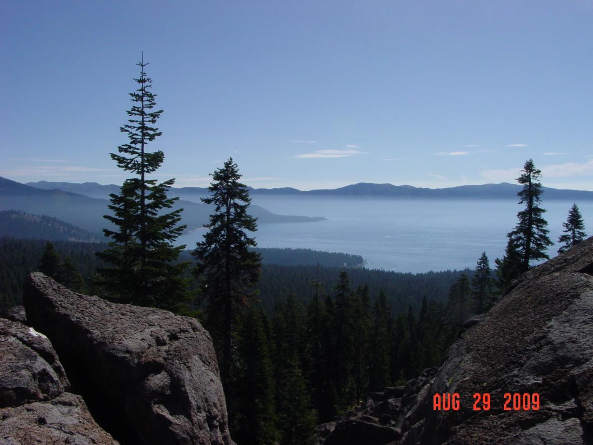 Tahoe Rim Trail: Brockway Summit to Watson Lake