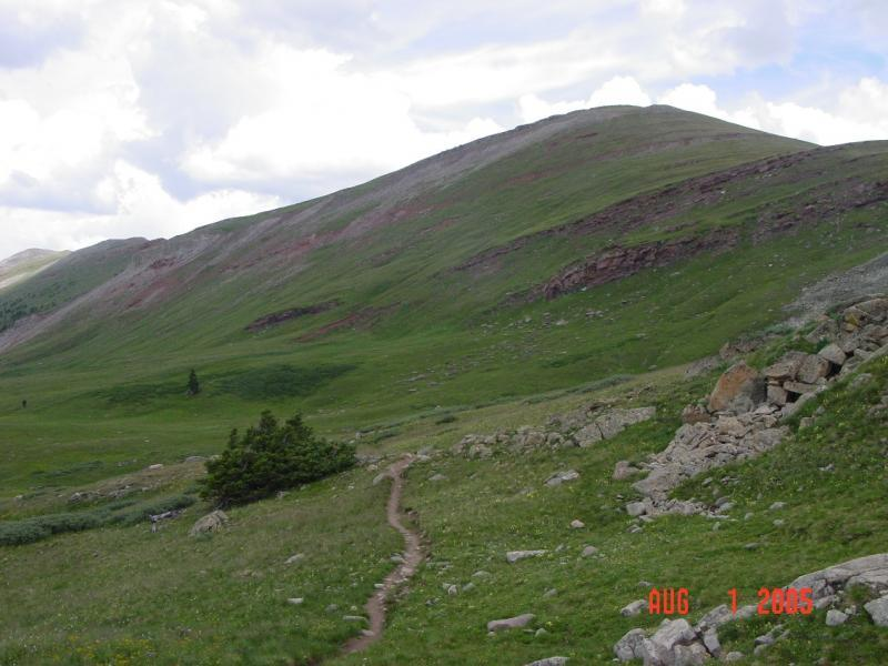 Colorado Trail: Searle Pass