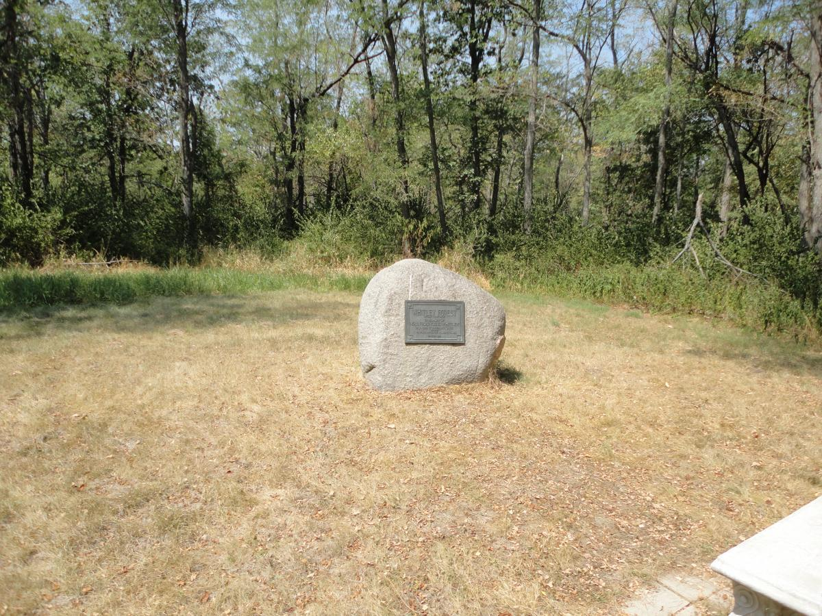 Indianola (IA) United States  City pictures : The monument at the top of the hill. Not much to look at, but the ...
