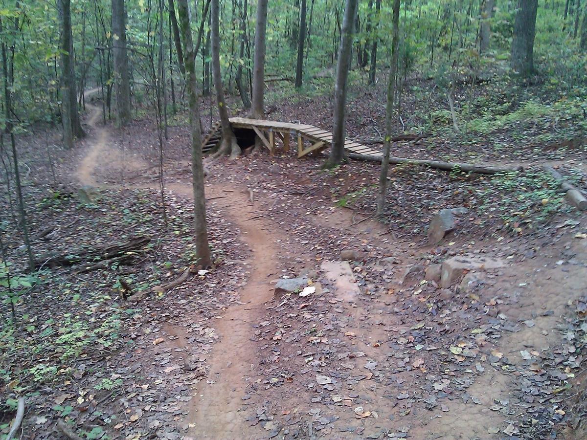 Sherman Branch Park Mtb Trail Mountain Bike Trail in Charlotte, North ...