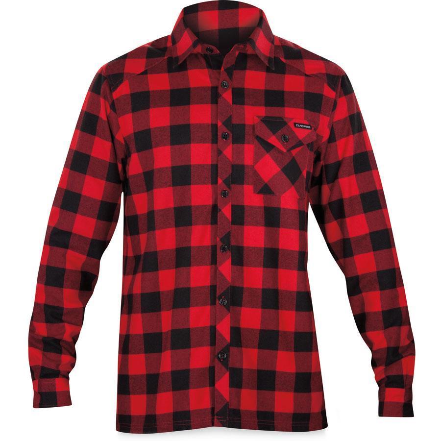 Dakine oakridge flannel reviews mountain bike reviews for Best flannel shirt brands