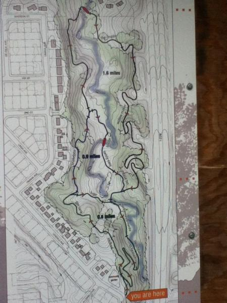 Leaders Park Mountain Bike Trail In Sioux Falls South