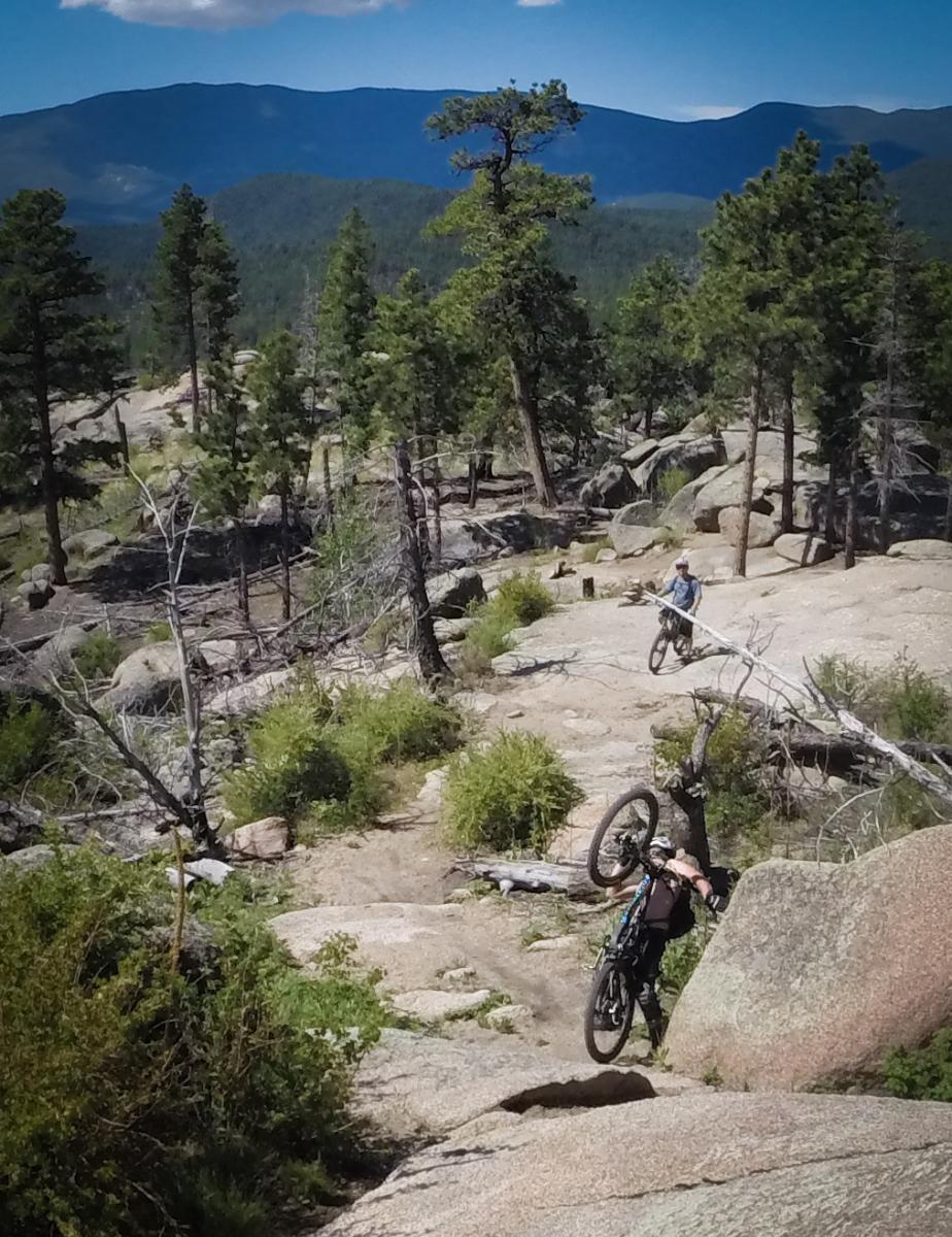 Blackjack mountain bike trail