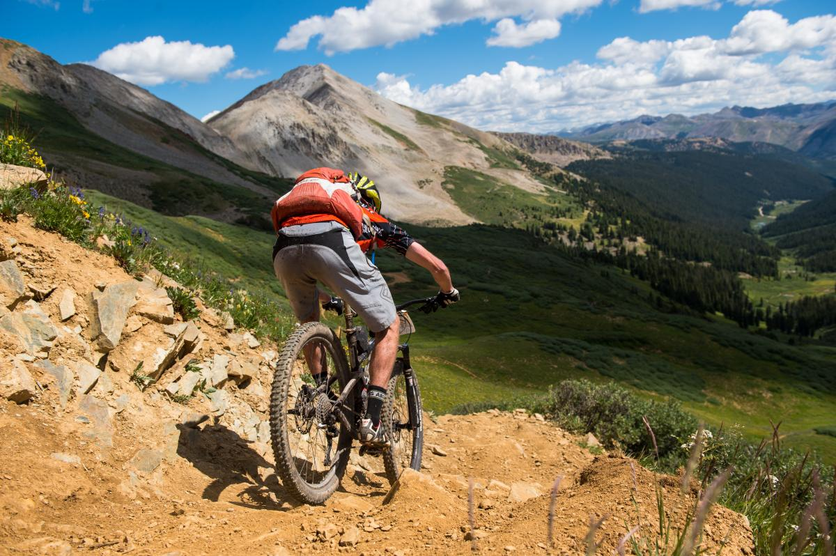 Trail 623 Mountain Bike Trail In Crested Butte Colorado