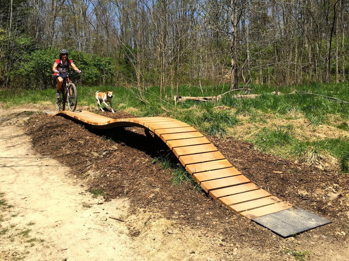 Griffin Bike Park Mountain Bike Trail In Terre Haute