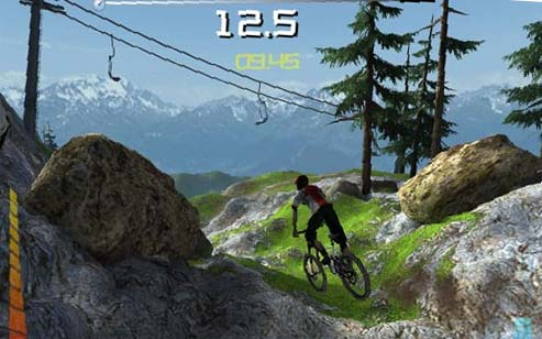 Bike Video Game The sample video clips on the