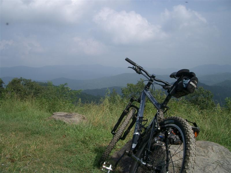 mountain biking in the north georgia mountains