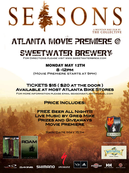 Collective Movie Premier: Seasons (plus beer!) - Singletracks