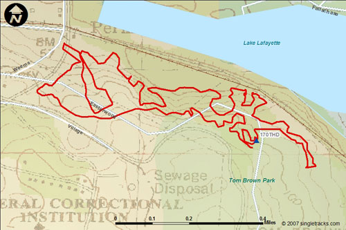 Mountain Bikes Trails in Florida The Mountain Bike Trails at