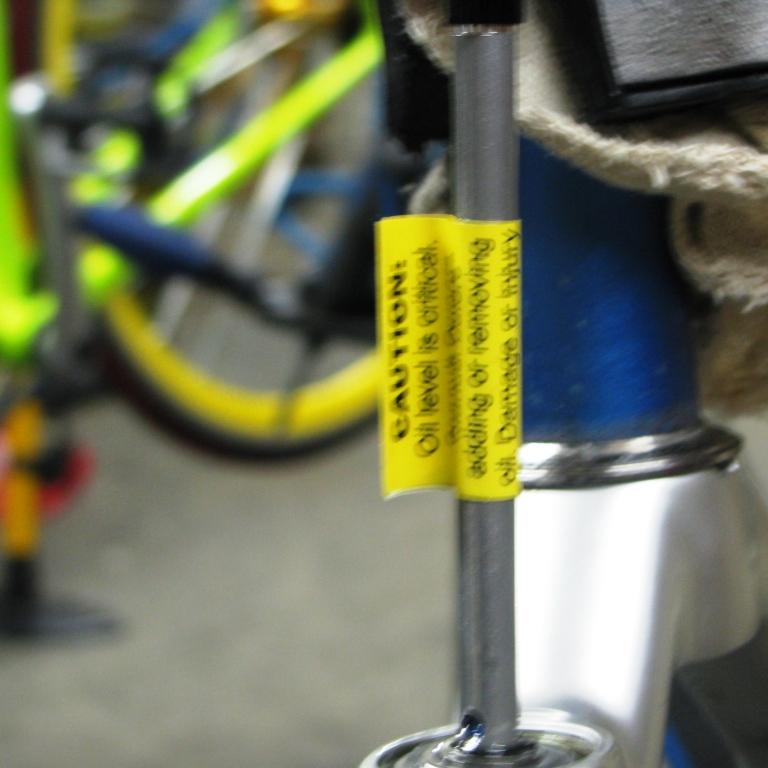 93050e38864 Mountain Bike Fork Servicing (Manitou) - Singletracks Mountain Bike News