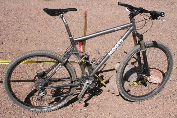 Moots MootoXz Interbike Test Ride - Singletracks Mountain