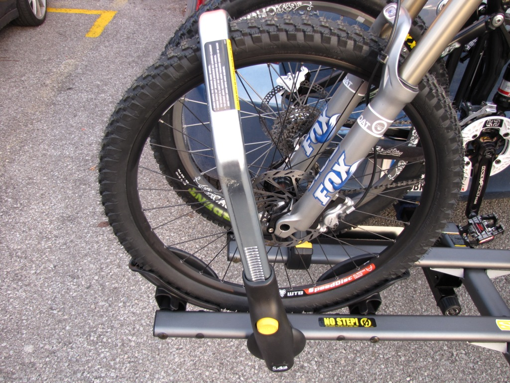 Saris Cycleon Pro Bike Carrier Review Singletracks