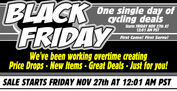 Black Friday Bike Gear Deals - Singletracks Mountain Bike News