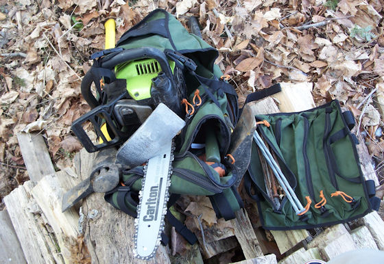 Dakine Builders Pack Review Easily Holds Your Chainsaw