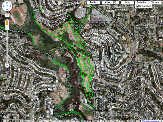 Google Maps: Bike Directions and Singletrack? - Singletracks