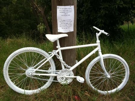 Ghost Bikes: Mourning Fallen Riders - Singletracks Mountain Bike News