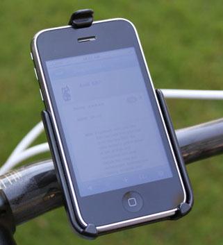 RAM iPhone Handlebar Mount - Singletracks Mountain Bike News