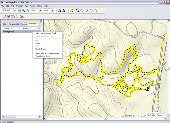 How to use garmin mapsource for mtb trails singletracks mountain to gumiabroncs Gallery