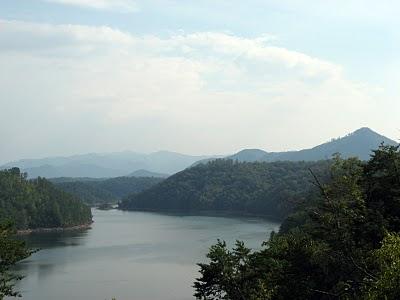 View of Fontana Lake