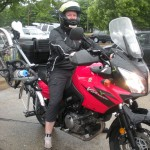 Moto bike rack