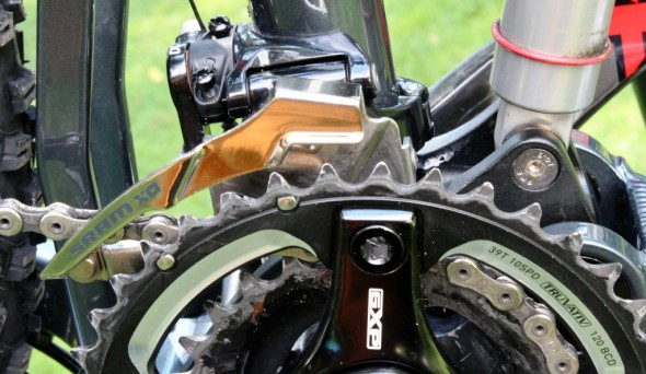 how to set up front derailleur