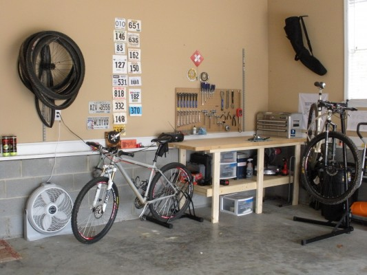 My Garage I Can Do Most Of The Work On Bikes But Theres Still A Few Things Like Installing Headsets Take Them To LBS For