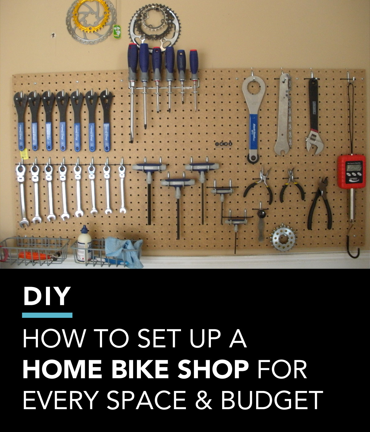 How to Set Up a Home Bike Shop For Every Space and Budget