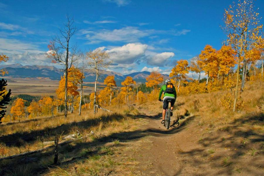 Bikes Kenosha trail kenosha pass rider