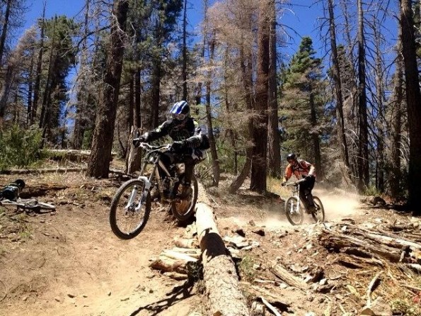Mountain Biking Big Bear Lake Snow Summit Mountain Resort