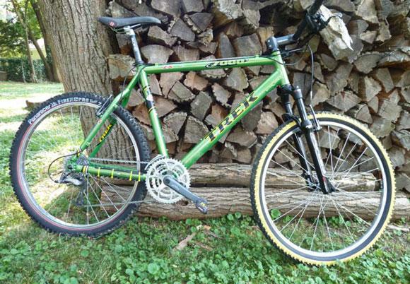 A New Life for an Old Bike: My Trek 7000 - Singletracks