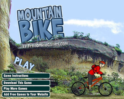 Bike Video Game Free mountain bike video game