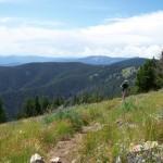 """Idaho's Continental Divide."" Trail: Chief Joseph Pass Area Trails, Wisdom, Montana. Photo: chukt."