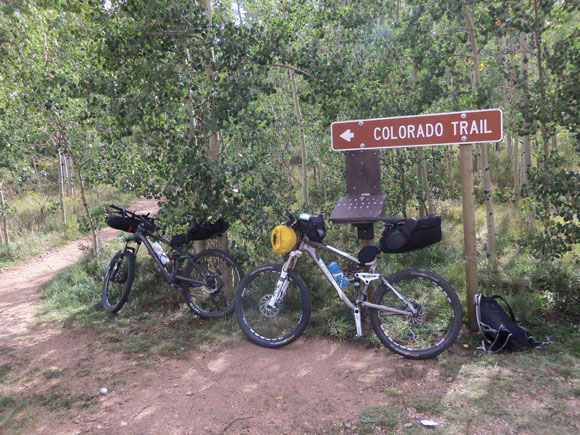 Bike Colorado Trail the Colorado Trail Days