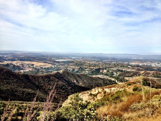 View of Orange County.