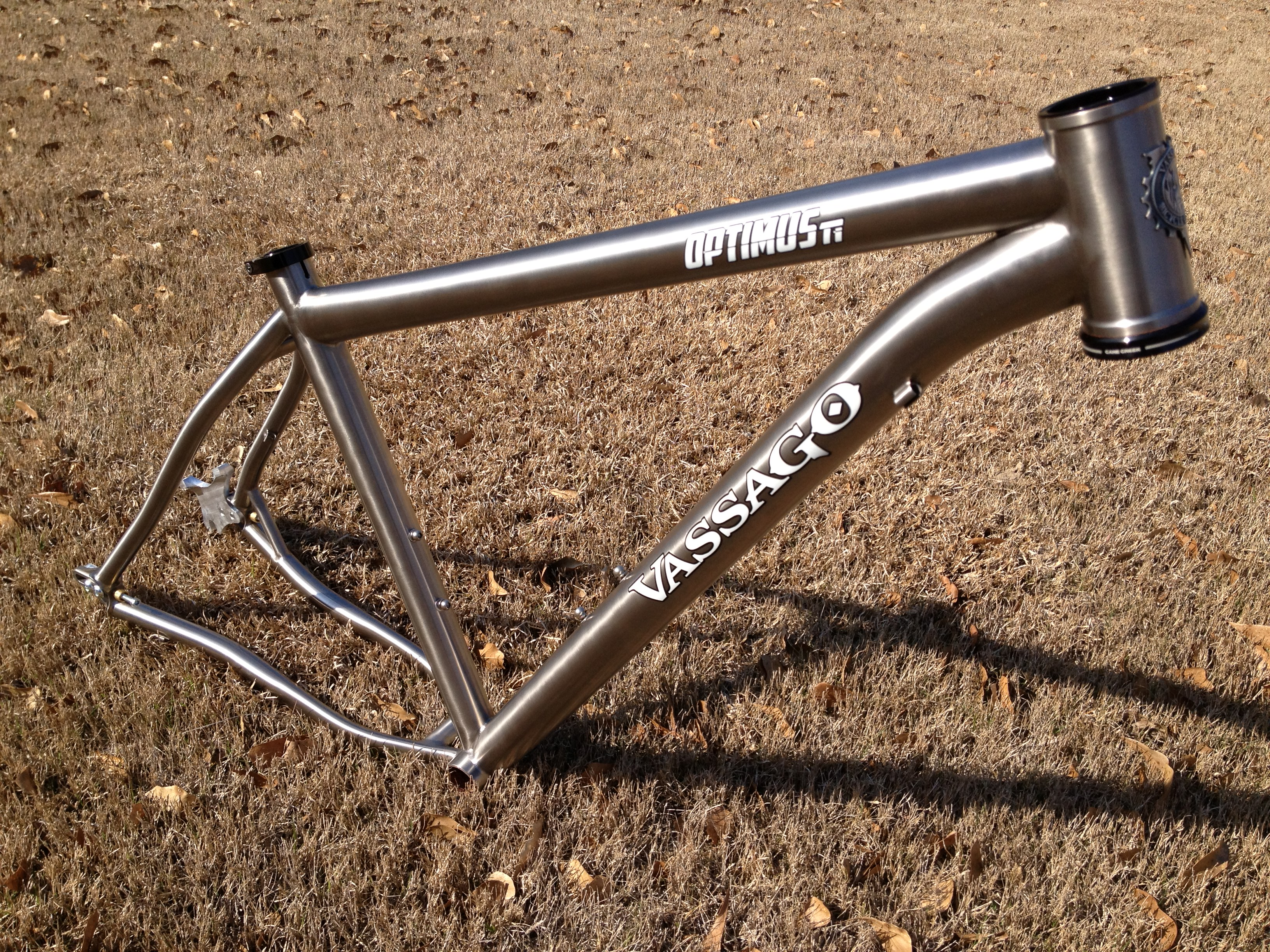 review vassago optimusti mountain bike frame