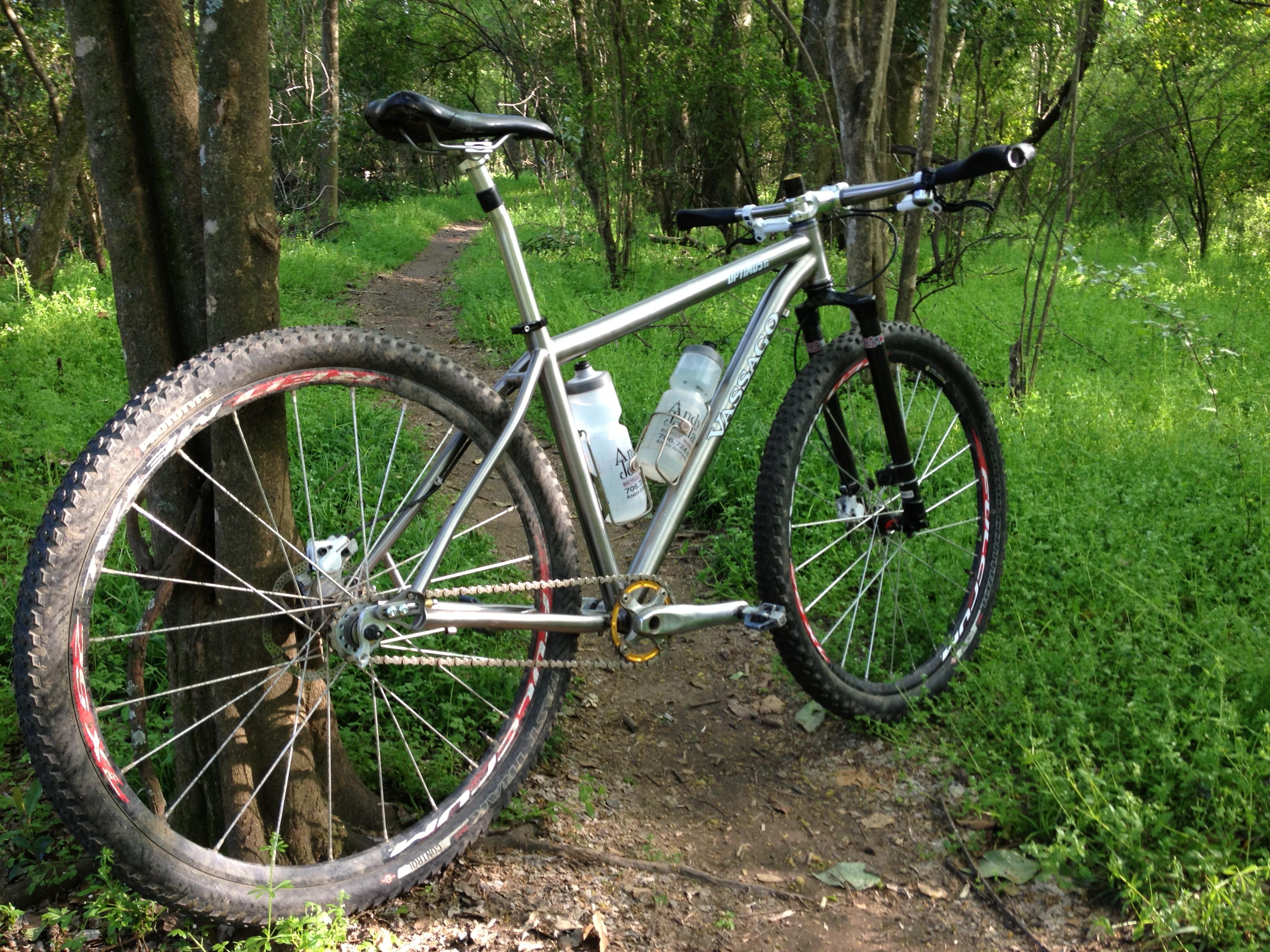 Review: Vassago OptimusTi Mountain Bike Frame - Singletracks ...