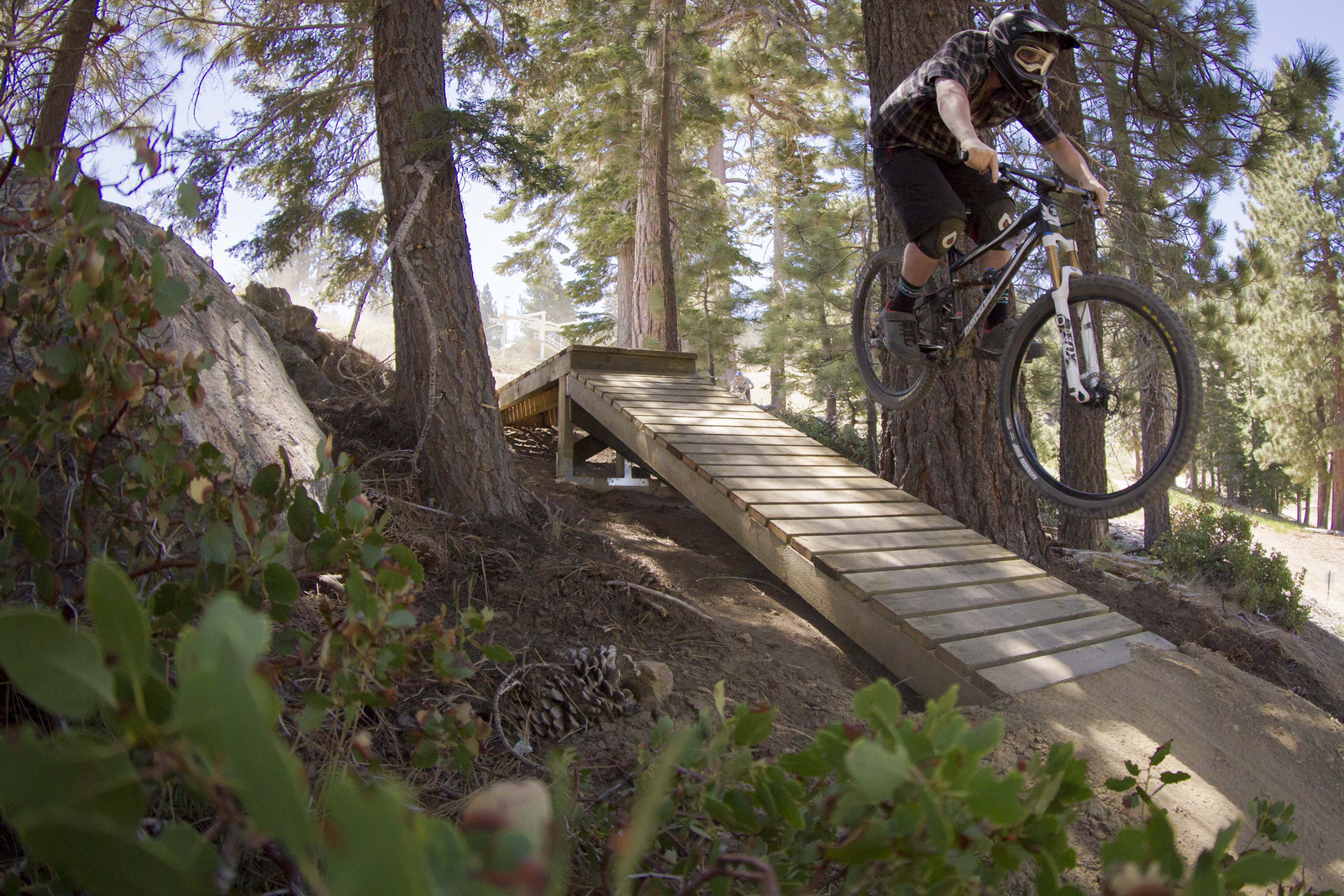 news: snow summit mountain resort in big bear, ca opens dh mtb park