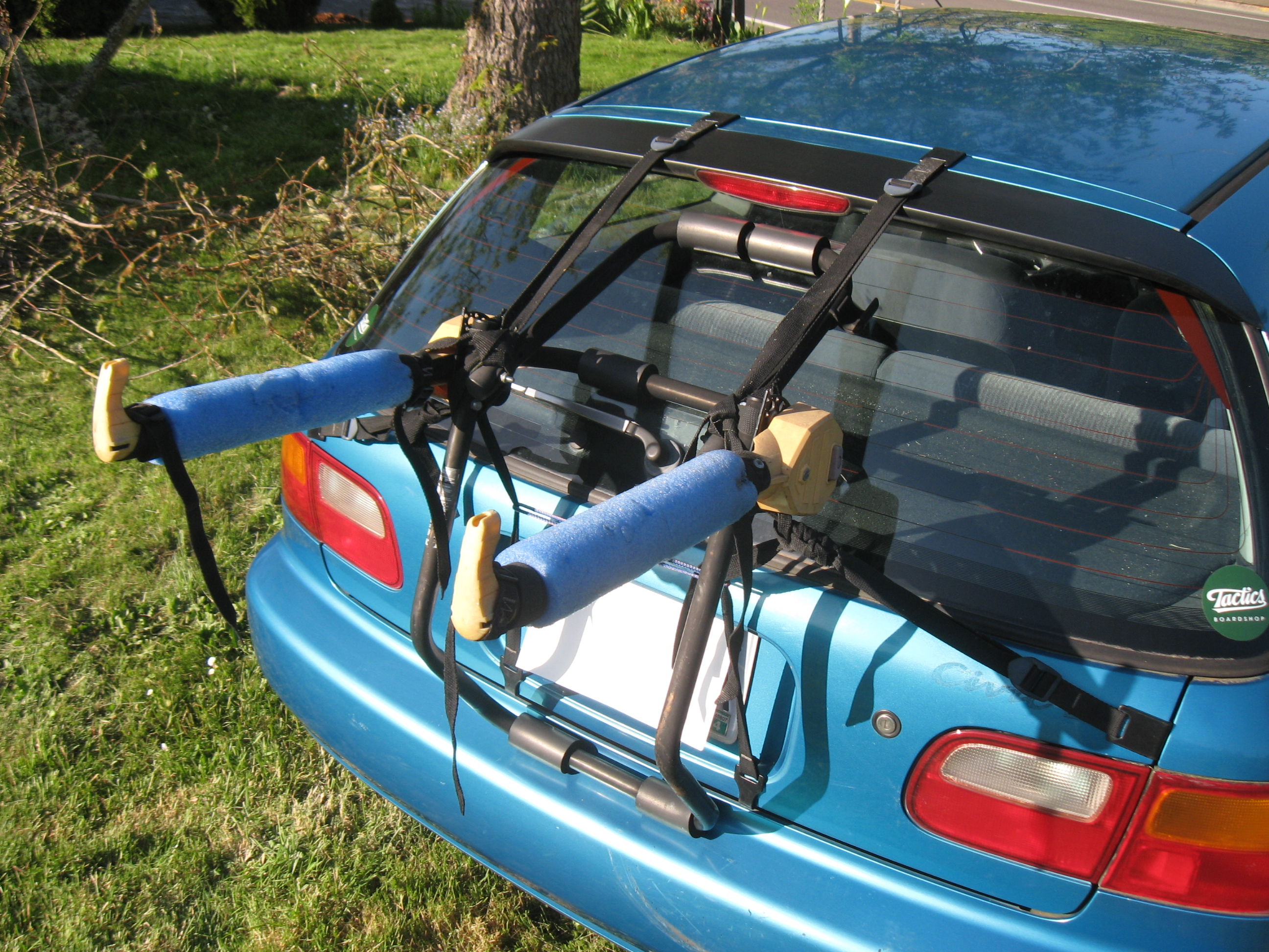 Bike Rack For Car rear mounted bike rack I