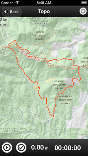 Singletracks App Updates: Offline Topo Maps - Singletracks Mountain