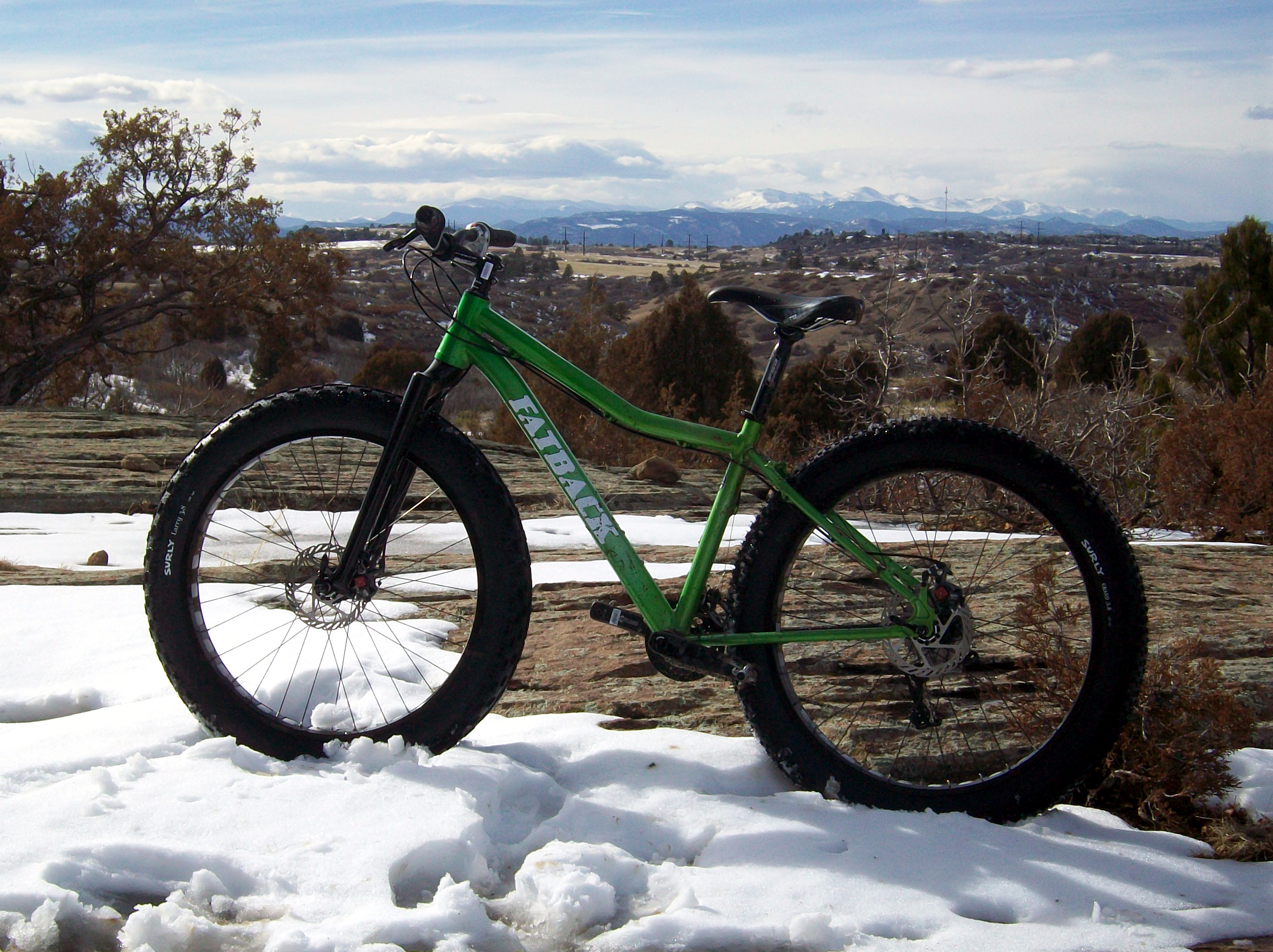 the deluxe build tips the scales right at 30 pounds with pedals while the sl weighs in a couple pounds lighter thats right an alloy fat bike with 4in