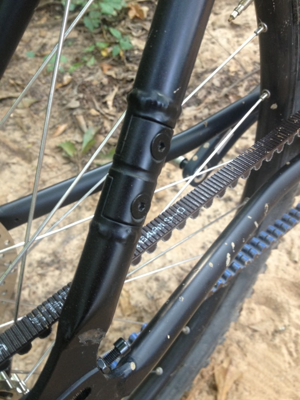 Review Gates Carbon Centertrack Belt Drive Singletracks