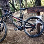 """My holiday MTB gift Devinci Carbon Troy!"" Photo: Chris Manalastas."