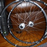 """My lovely wife got me some Bontrager RXL rims laced to some Industry Nine hubs."" Photo: Roberty Myrick."