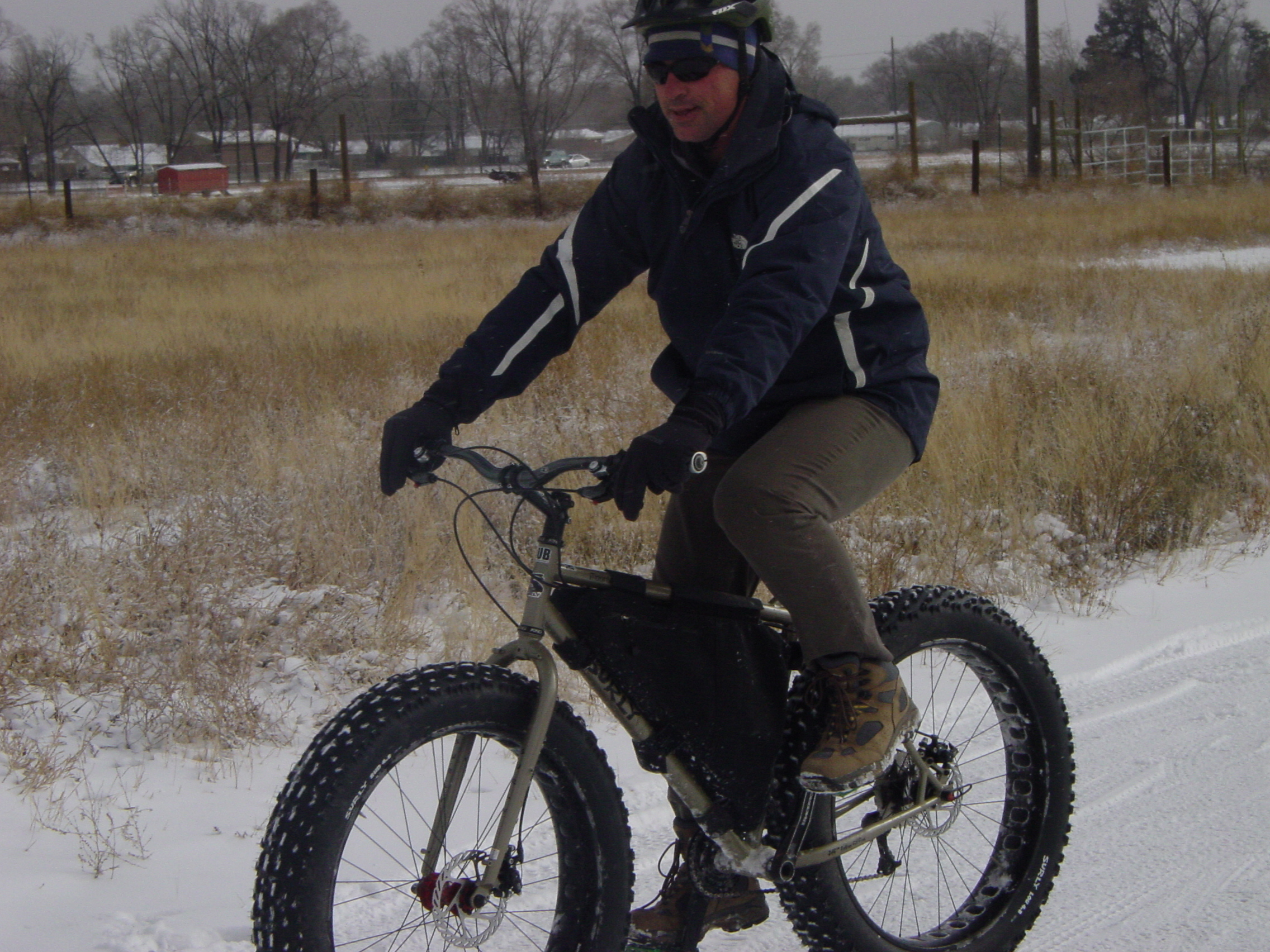 Winter is a good time for getting fat -- a fat bike, that is