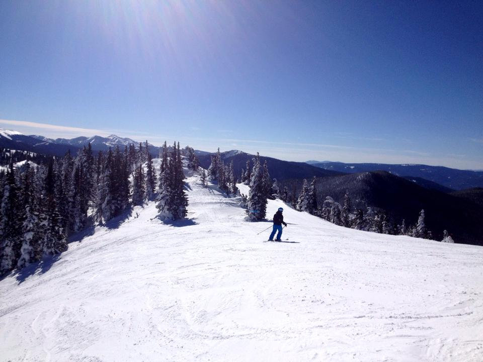Skiing at Monarch Mountain is awesome! Photo: mtbgreg1.