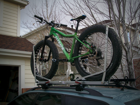 Loaded and ready to go to the trailhead!