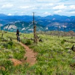 Buff Creek is one of the most scenic places to ride in central Colorado after two large forest fires opened the view around the trail system. Photo: med703.