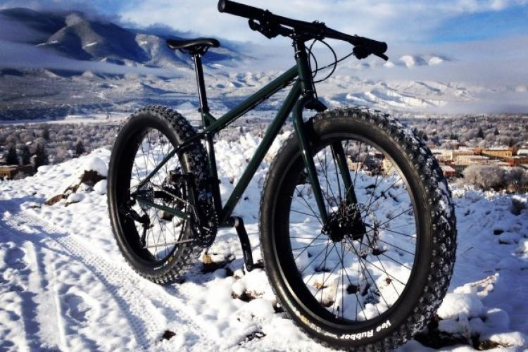 mountainbike snow winter extreme-#42