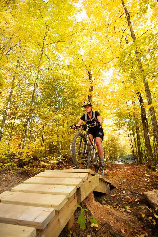Seeley Pass Trail, CAMBA, Wisconsin. Photo: Scott Anderson.