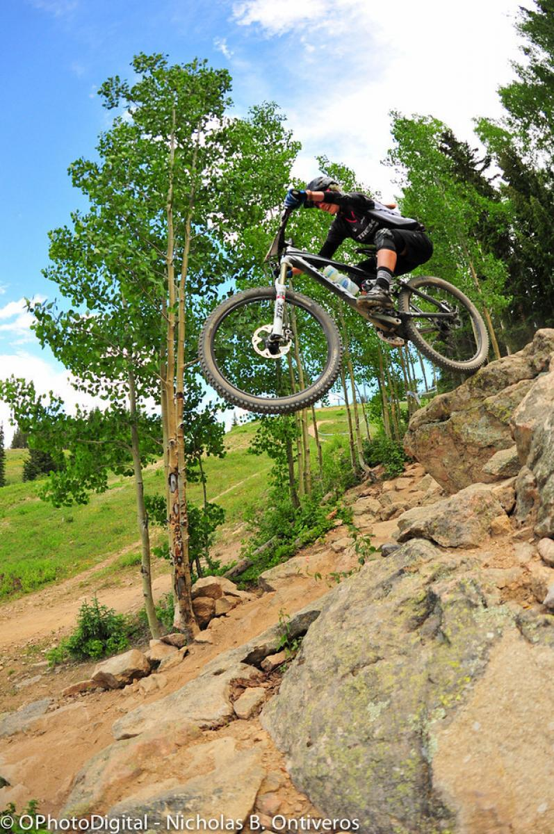 Big Mountain Enduro in Crested Butte, Colorado. Photo: Nick Ontiveros.
